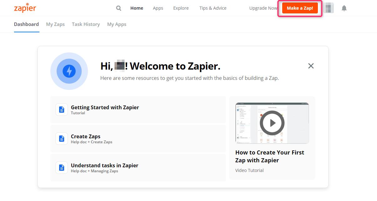 Make a Zap!