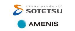 相鉄グループと日比谷アメニスのロゴ
