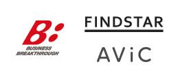 ビジネス・ブレークスルーとファインドスターとAViCのロゴ